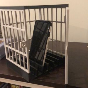 Cell phone Time Out holder